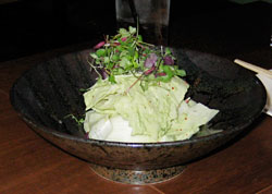 Heart of Palm Salad with with Jalapeno Dressing from Nobu's restaurant